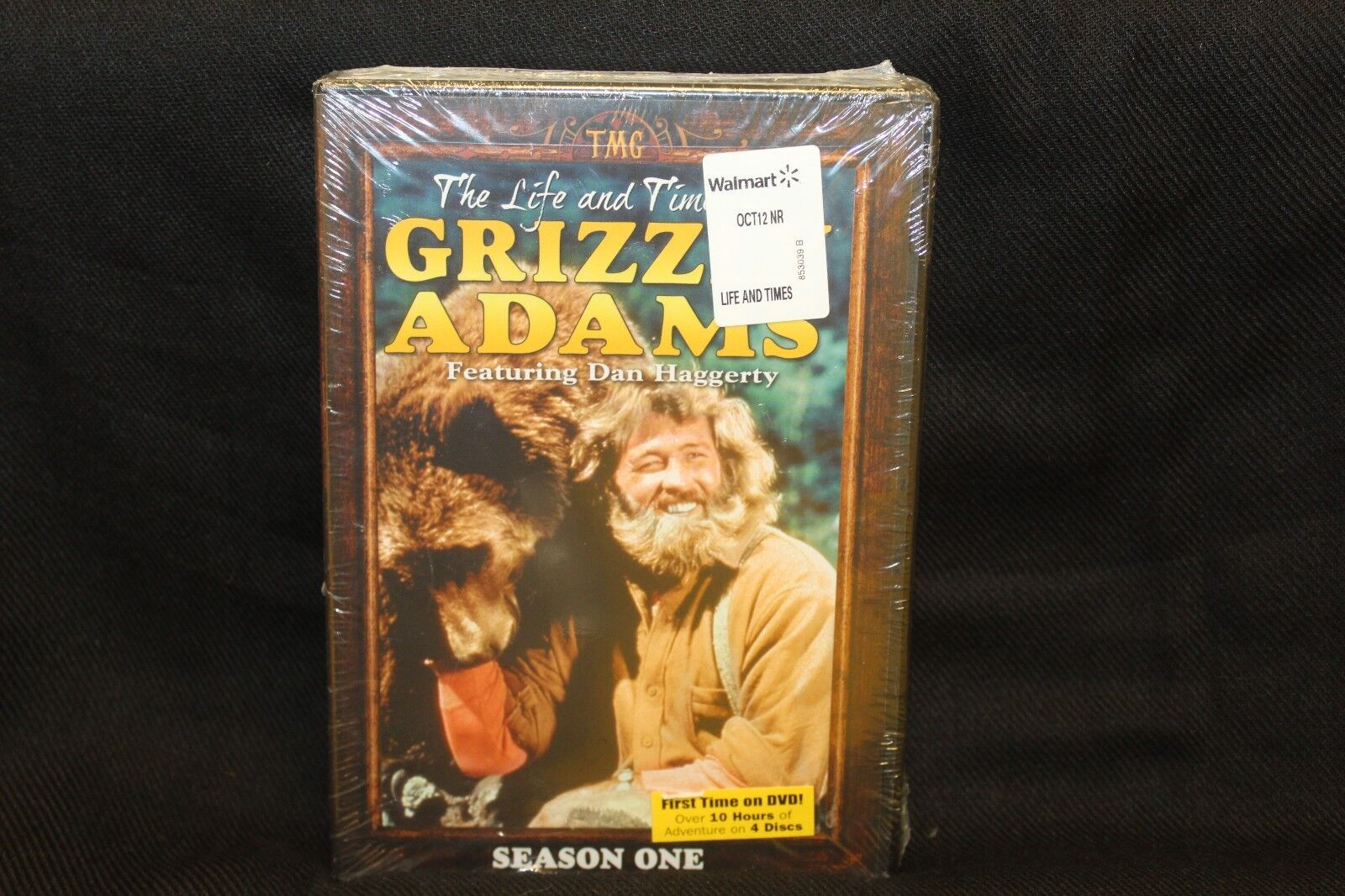 THE LIFE AND TIMES OF GRIZZLY ADAMS SEASON 1 ~ 4 DVD Set ~ SEALED