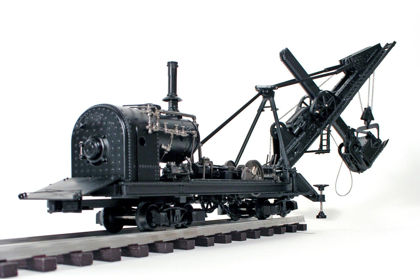 Bucyrus Steam Shovel on Rail - 1/48 - TWH #021-08001 • CAD ...