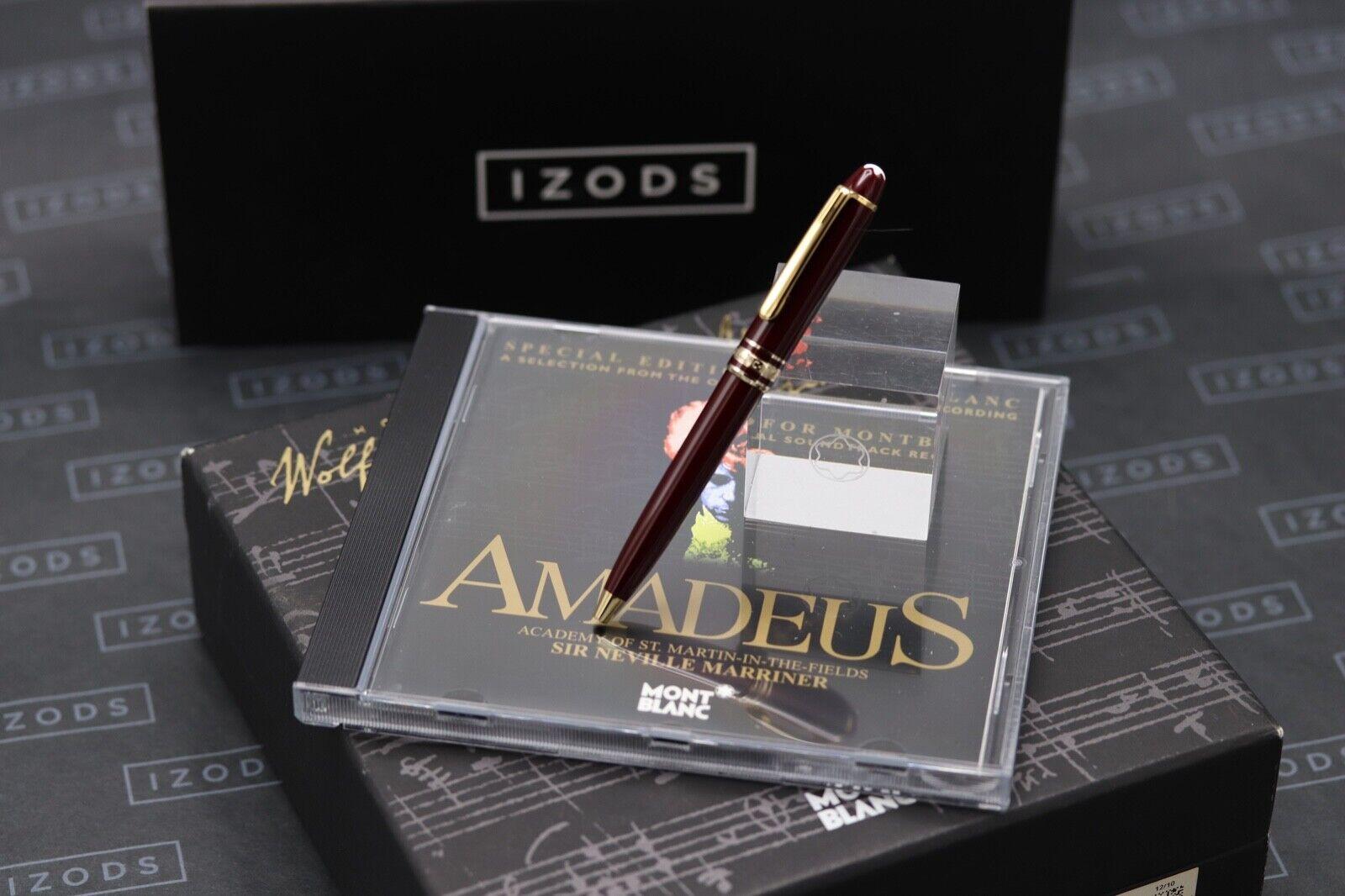 Montblanc Meisterstuck 116 Mozart Bordeaux Gold Line Ballpoint Pen