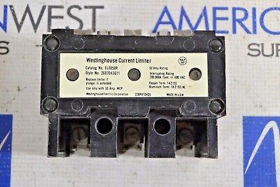 Westinghouse Current Limiter El3050r 50 Amp 600vac El3050r
