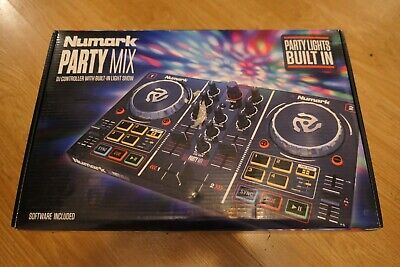 Numark Party Mix | Starter DJ Controller with Built-In Sound Card & Light Show  for sale  Shipping to South Africa