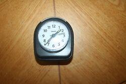 Sharp Analog Travel Alarm Clock w/ Night Light (Model SPC844)
