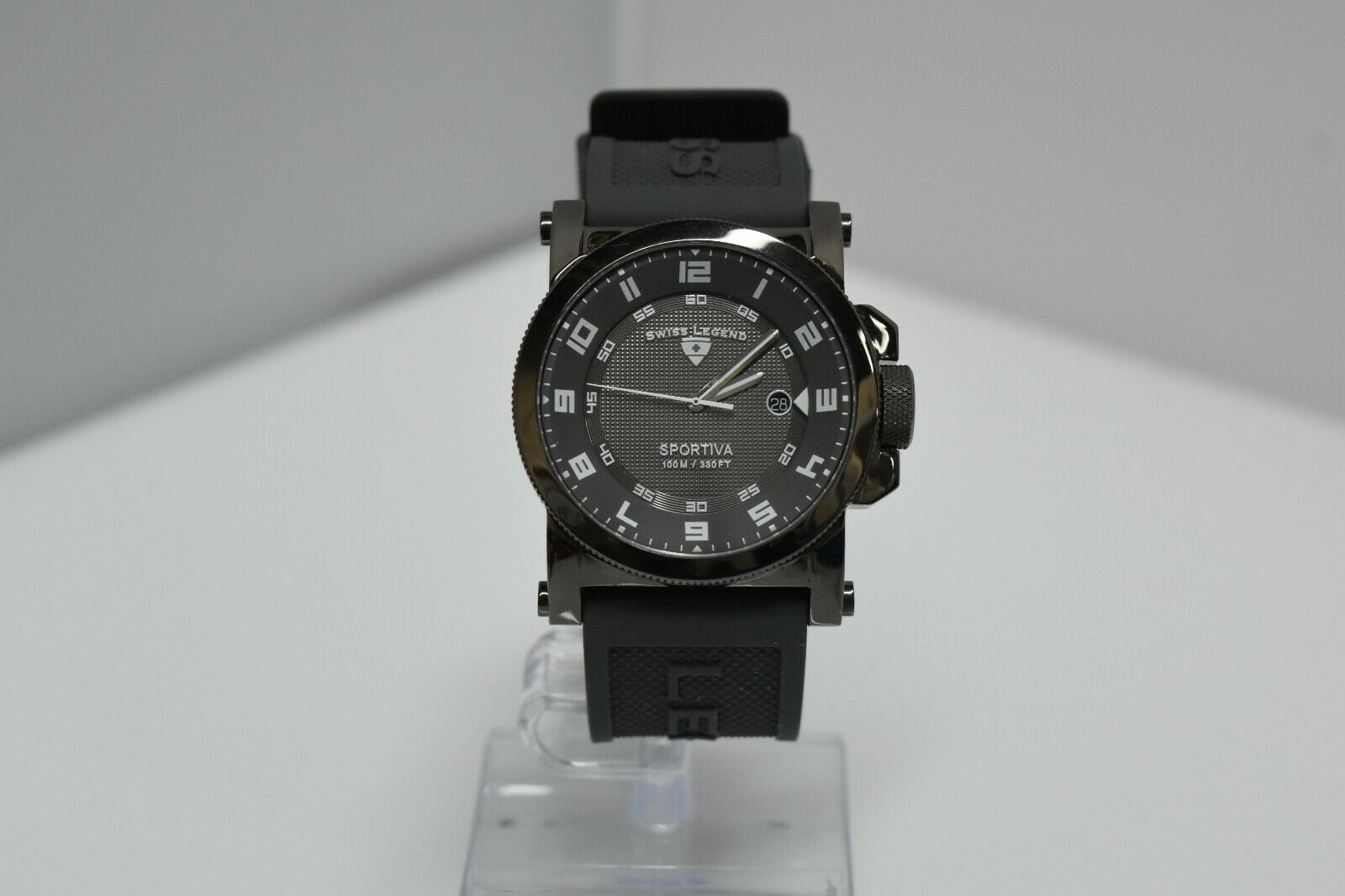 Swiss Legend Sportiva 45mm SL-40030 Watch Gray/Gunmetal