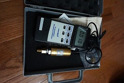 Vwr Traceable Pressure Meter With Pressure Transducer Ps100-2bar And Case