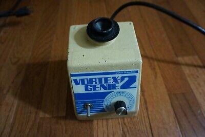 Vwr Genie 2 Vortexer Vortex Shaker Mixer Used Lab  Rotator Mini Touch Cnxdr