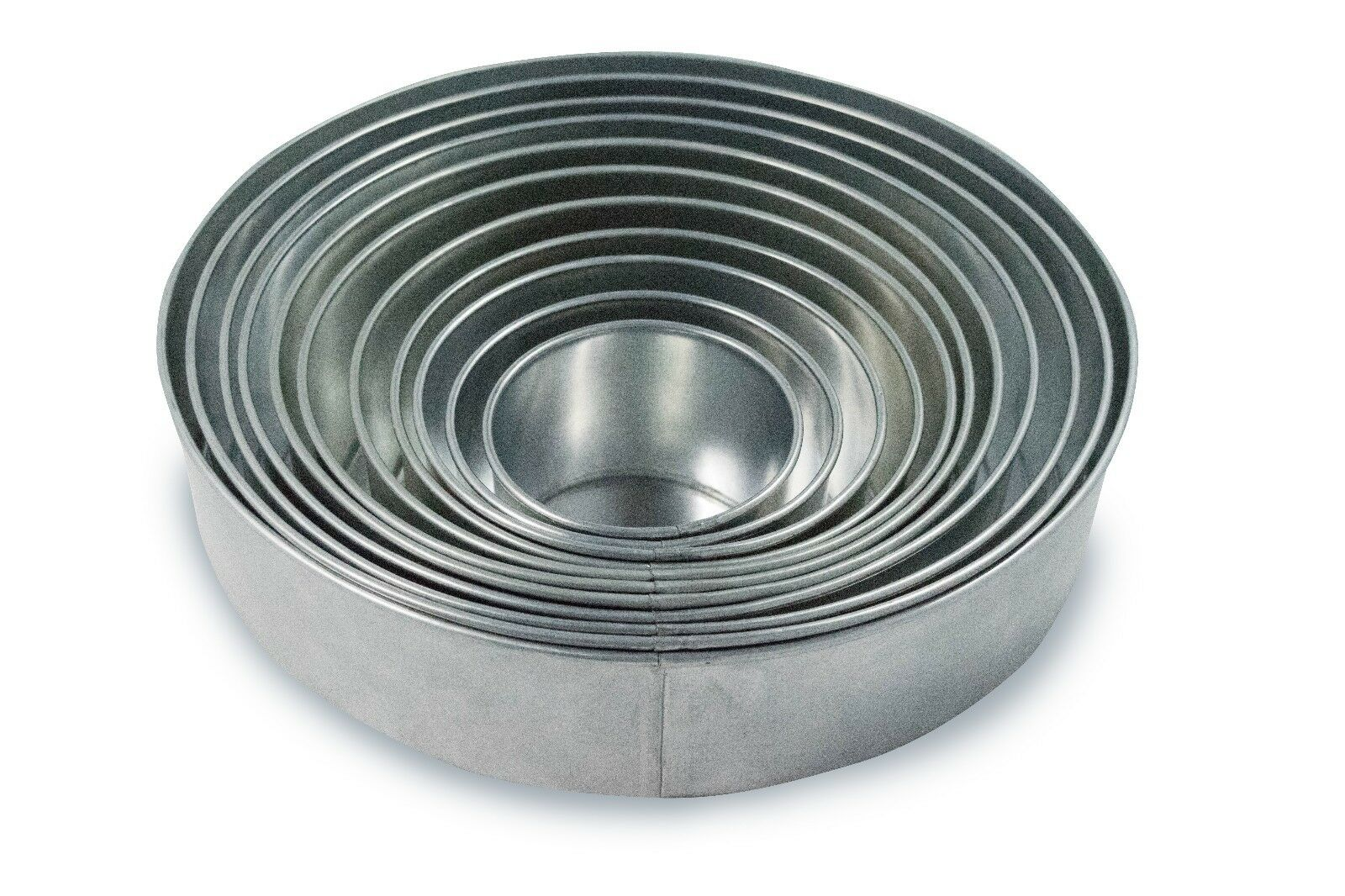 Set of 11 Tier Round Multilayer Cake Tins Pans