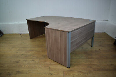 TECHO Birch Executive Radial Office Desk 2000mm Curved Edge 9 Available