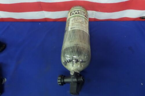 MSA H30 High Pressure 4,500 PSI 30 Minute Carbon Fiber Bottles 03-2006 Date