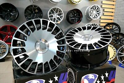 New 19 inch 5X112 ViP LUXURY MAYBACH style BLACK POLISH wheels for MERCEDES BENZ