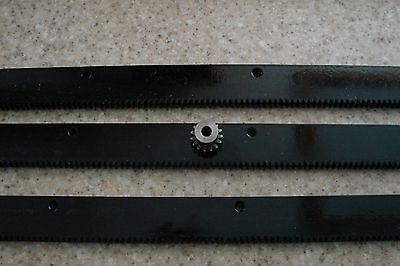 Cnc Stepper Motor Mech Rack Gear 72 Rack 3 24 Pcs 14 15t Pinion Gear
