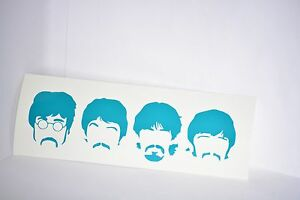 The-Beatles-Vinyl-Car-Laptop-Decal-Sticker-Choose-Color-John-Paul-George-Ringo