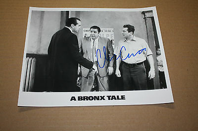 BRONX TALE CLEM CASERTA SIGNED 8X10 PHOTO W/ROBERT DENIRO