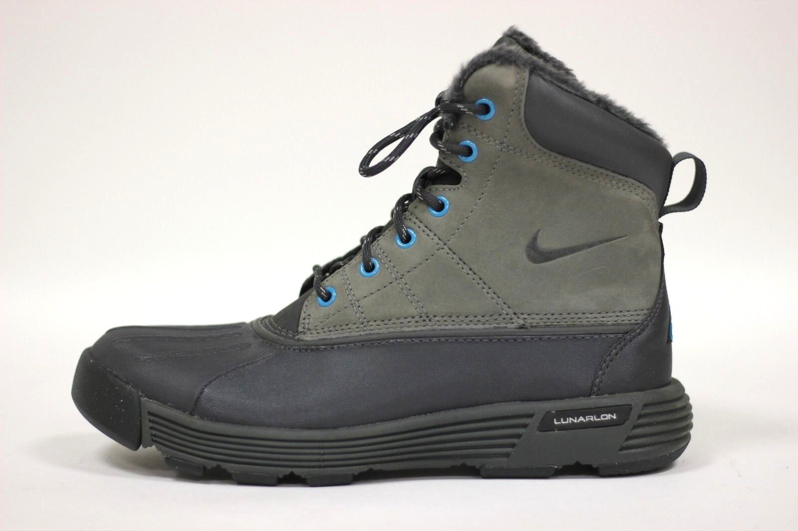 5862ab6c Nike Women's Lunarstorm Boot NEW AUTHENTIC Anthracite/Grey/Turquoise 417724-004  фото