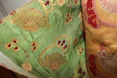 26 Yard Roll Fabric Scalamandre Anemone Emerald Home Decorator Fabric Decoration Fabric Roll