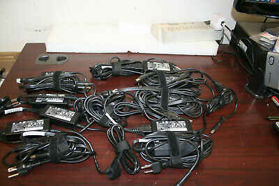 Lot of 10 pcs Orginal HP 19.5V 2.31A 45W AC Power Adapter for Laptop w/ AC cord.