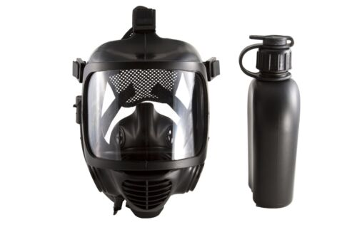 MIRA Safety CM-6M Tactical Gas Mask - CBRN Defense - W/ Drinking System - NEW