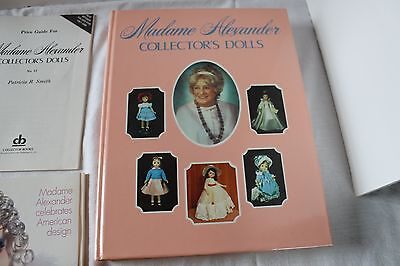 Madame Alexander Collector Dolls Hard Cover Illustrated Price Guide Book w - Madame Alexander Doll Collectors Book