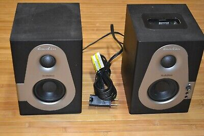 Samson StudioDock 3i Active USB Monitor Speakers **Superb** Tested Sounds GREAT for sale  Shipping to India