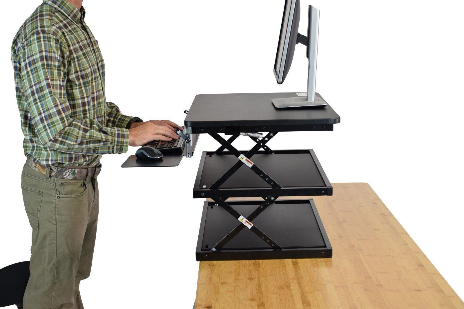 CHANGEdesk- Tall Ergonomic Laptop & Desktop Standing Desk Co