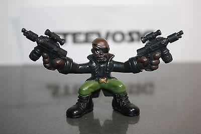 Playskool Marvel Super Hero Squad Nick Fury Jackson Two Guns