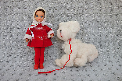 Tutti Me and My Dog Set 1960's Barbie's Sister Mattel
