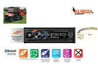 Direct Plug /& Play Kubota Tractor Radio AM FM Bluetooth RTV 1100 RTX 1100C B2650