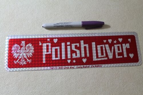 POLISH LOVER - Poland White Eagle Funny Sexy 80