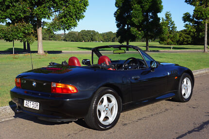 BMW Z3 Roadster Black/Red Woollahra Eastern Suburbs Preview
