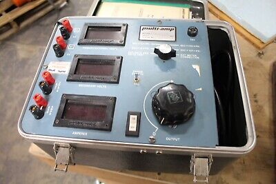 Avo Multi-amp Cter-83 Current Transformer Ratio Excitation And Polarity Tester