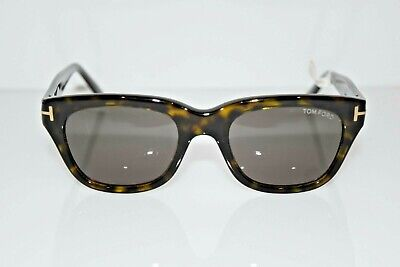 Tom Ford Authentic Snowdon Havana Gold Square TF237 52N 52-20-145 Sunglasses (Tom Ford Sunglasses Snowdon)