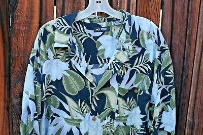 opical Themed PURITAN Short-Sleeved Shirt w/Pocket - Size 2X (Hawaii Themed)