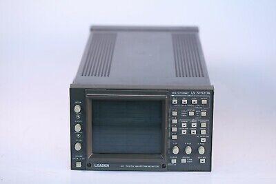 Leader Lv5152da Hd Multiformat Waveform Monitor