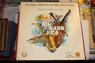 Longines Symphonette Presents Theme Songs of the Big Band Era NM Vinyl Record LP