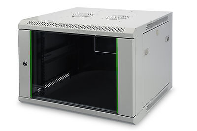 "19"" Netzwerkschrank / Wandgehäuse 7HE HxBxT 415x600x450 / DIGITUS DN-19 07-U-EC"