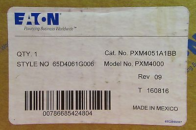Eaton Cutler Hammer Pxm4051a1bb Pxm4000 Meter Power Supply Io Module 65d4061g006