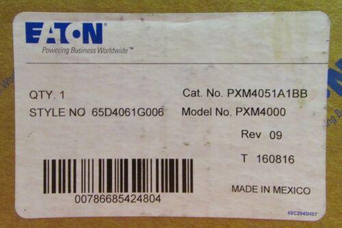 EATON CUTLER HAMMER PXM4051A1BB PXM4000 Meter Power Supply IO Module 65D4061G006