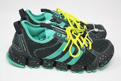 NEW Adidas Clima Warm Blast Running Shoes Green/Aqua/Black Size 6 Women
