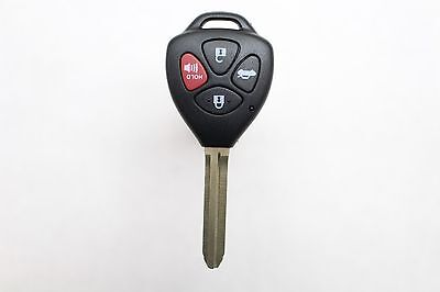 New Keyless Entry Remote Key Fob For a 2010 Toyota Yaris w/ 4 Buttons