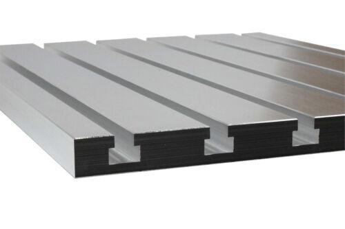 "T-Slot plate 16"" x 16"" - 100% cast aluminium"