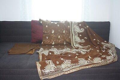 bollywood indische Kleid Salwar Kameez Dupatta Tanz Fasching kostüme Neu Gr.38 (Tanz Kleid Kostüme)