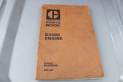 1971  CAT Caterpillar D333C Engine Part Manual Book ORIG