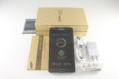 New Samsung Galaxy Note 3 III SM-N900A Black 32GB 13MP AT&T Unlocked GSM