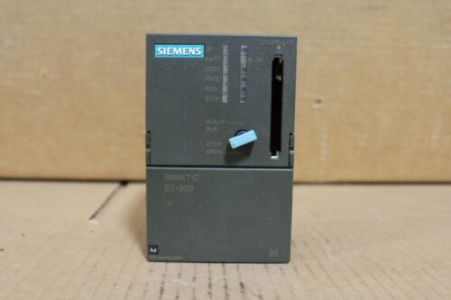 Siemens 6ES7315-2AF03-0AB0 CPU Module Missing Memory Card
