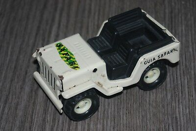 JUGUETES GOZAN Spain Jeep  SAFARI  tin L=11 cm, usado segunda mano  Embacar hacia Argentina