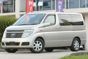 2004 Nissan Elgrand Automatic 4X4 Only 49237km English GPS Bluetooth Wetherill Park Fairfield Area Preview