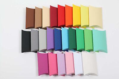 25 Geschenkschachtel Pillow Box 220gr Schachteln Gastgeschenk Geschenkkarton