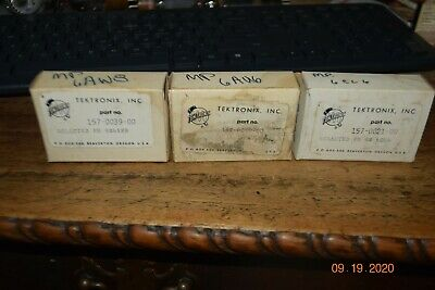 5 Vintage Nos Tubes 6au6a 6cl6 6aw8a Ge For Your Tektronix Oscilloscope