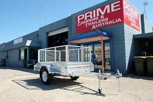 Unbeatable Value On Our 7x4ft Galvanised Box Trailer With 600mm Cage Wingfield Port Adelaide Area Preview