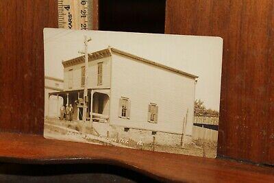 Antique New York Postcard 1920 Masonic Hall Chemung NY