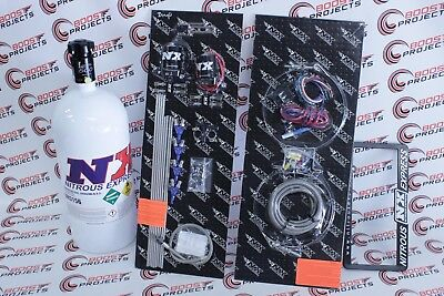 NX Express 4CYL Gasoline EFI Direct Port Wet Nitrous System W/ 10LB Bottle